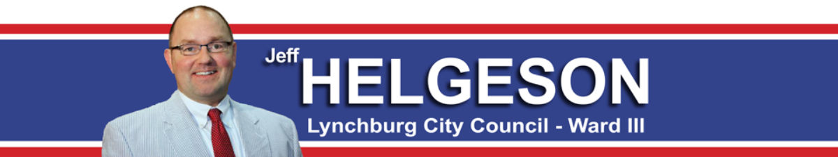 Jeff Helgeson – Lynchburg City Council, Ward III
